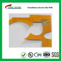 China IPC Standard Flexible PCB Thickness 1mil with Plaing Gold PI Material wholesale