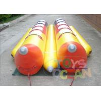 China 0.9mm PVC Inflatable Banana Boat Double Tube Water Towed Ski wholesale