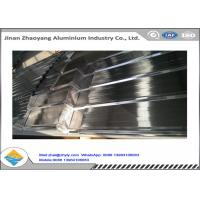 China Temper H14 H24 H18 H112 Corrugated Aluminum Roof Panels Anti - Earthquake wholesale