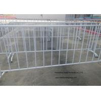 China Crowd Control Temporary Backyard Fence For Safety Traffic Management wholesale