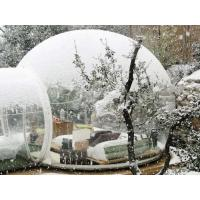 China CE Inflatable Clear camping Tent, Decoration Snow Globe for Christmas wholesale