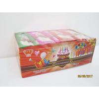 China Happy Birthday Candle Marshmallow Candy / 11g /4 Pcs In One Bag Twist Cotton Candy wholesale