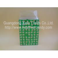 China Confectioners Sugar Candy Chocolate Cubes / Milk Cubes Transparent Box Pakaging wholesale
