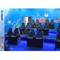 China Ocean Park 30 Motion Chairs XD Theatre With Cinema System Entertainment on sale