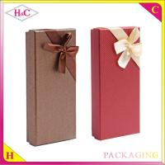 China Luxury reusable paper ribbon gift box wholesale