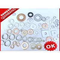 China 4.8 Grade Iron Flat Washers In Bulk With DIN125 / DIN9021 / DIN126 / DIN7989 wholesale