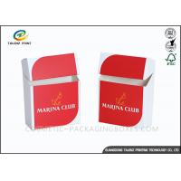 China Promotional Logo Print Cigarette Case Custom Cigarette Box Folding Paper Box wholesale