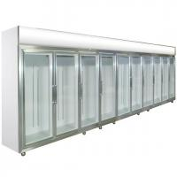 Buy cheap Green&Health mobile commercial shop glass door drink display fridge refrigerator cooler from wholesalers