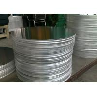 China Shining Mill Finished 3003 Aluminum Disc , Tableware High Strength Aluminum Disks wholesale