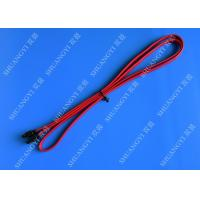 China Red SATA 3.0 6gbps Cable Long SATA Cable 7 Pin SATA To SATA For Set Top Box wholesale