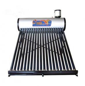 China Non-Pressurized Solar Water Heater For Domestic , Galvanized Sheet wholesale
