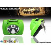 China 10000 Lux Rechargeable LED Mining Light With OLED Screen IP 68 Waterproof wholesale