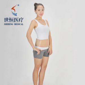 China Wholesale neoprene zipper waist cover, protect abdomen belt, women's sweat shaping top wholesale