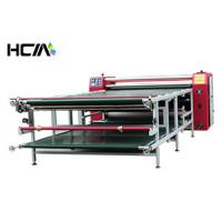 Roller Sublimation Heat Transfer Machine For t Shirts Digital High Efficiency