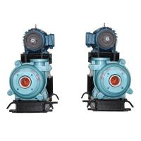 Type AH, HH slurry pump in cantilevered horizontal / single stage centrifugal pump