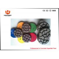 China High Speed Polishing Pads , 3'' Dry Concrete Polishing Pads For Grinder wholesale