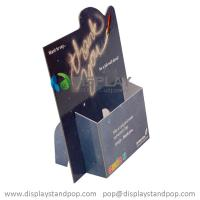 China A4 A5 Cardboard Brochure Display Holders, Cardboard Leaflet Dispensers with Custom Design on sale