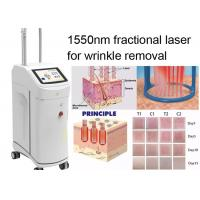 China Non Ablative Wrinkle Laser Machine With 1550nm Erbium Glass Fractional Laser Technology wholesale