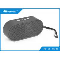 China Outdoor / Indoor Portable Bluetooth Speaker With Subwoofer , DC5V/1A Voltage wholesale