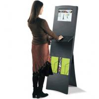 """China Large electronic information advertising multimedia kiosk with 42"""" infra - red touchscreen wholesale"""