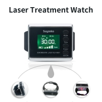 China 220V Semiconductor Laser Therapy Wrist Watch For Diabetes Treatment wholesale