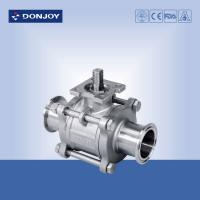 China 3-pcs Non-retention ball valve,Directly ball valve SS304/316L BPE Standard for food on sale
