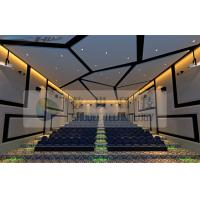 China Large Arc Screen 4D Cinema Equipment With 7.1 Audio System wholesale