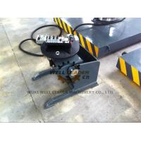 China Manual Pipe Welding Positioners Round Table 0 - 120 Dgr Tilting By Hand Wheel wholesale