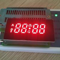 Buy cheap Ultra red 4 Digit 7 Segment LED Display common cathode for gas cookers from wholesalers