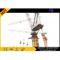 China Self Erecting 10 Ton Luffing Jib Tower Crane Lifting Equipment For Skyscrapers wholesale