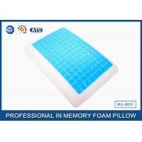 Soft Refreshing Reversible Bread Cooling Gel Memory Foam Pillow 2 In 1 For Neck