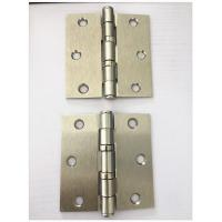 China Sn Latin Nickel Plated Heavy Duty Door Hinges 2bb Ball Bearing Soft Closing wholesale