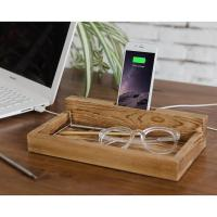 China Modern Family Charging Station , Wood Docking Station For Iphone  wholesale