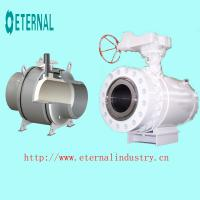 China Trunnion Mounted Ball Valve Valve Body (welded body) wholesale