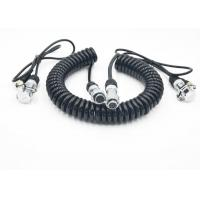China Flexible Coiled Power Cord Trailer CCTV Camera Cable For Electronics wholesale