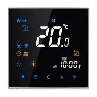 China Room Thermostat, LCD Touch Screen Control 3A for Gas boiler Programmable Smart WIFI app  Model TH-701/GCW wholesale