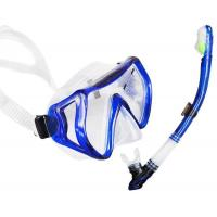 China High Waterproof Performance Dive Mask Snorkel Set For Underwater Diving wholesale