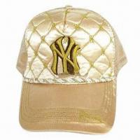 China Cap with embroidery logo, fashionable design wholesale