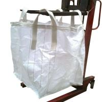 China White Storage Flexible Bulk Container For Packing Cement / Sand / Mine wholesale