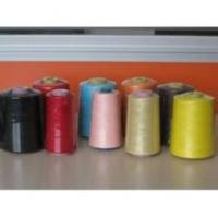 China jean 100% Nylon sewing thread poly poly core spun sewing thread wholesale