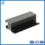 China Black anodize oxidation extruded aluminum profiles for LED light , tolerance 0.2mm wholesale