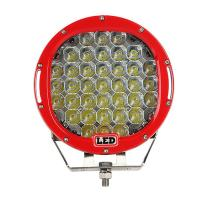 China 9 inch Led work light with 111Watt , 37pcs*3w high intensity CREE LEDS, Black, Red, Bule, Yellow Body color available wholesale