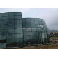 China Bathroom Euro Grey Float Tempered Glass Sheets Fire Resistant Shockproof wholesale