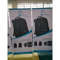 """Quality Adjustable X Stand Banners Pvc Film With Grommets Long Life Printed  32"""" X 70"""" for sale"""