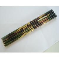 China custom brand advertising promotional personalized black pencils with eraser topper wholesale