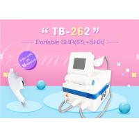China IPL SHR Hair Removal , Age Spots Removal , Sider Vein Removal Skin Rejuvenation Machine wholesale