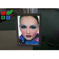 China Poster Size A0 A1 LED Outdoor Light Box Uniform Lighting With Lockable Swing Frame wholesale