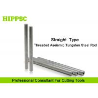 China Cutter Head Solid Carbide Rod with Tungsten Steel materials , Straight Shank Type wholesale