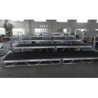 China Toughened Glass Movable Stage Platform / Temporary Stage Platforms wholesale