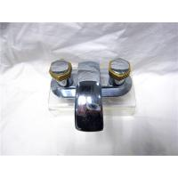 Quality Polished Stainless Steel Kitchen Sink Faucets With Two Brass Handle / Installati for sale